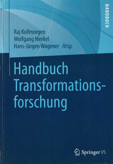 Cover Handbuch Transformationsforschung