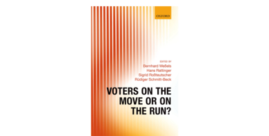 Cover Voters on the move or on the run?