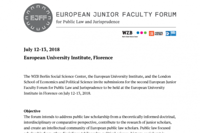 2018 EJFF Call for Papers